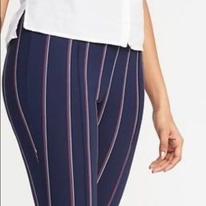 Old navy Stevie ponte pants limited print NWT